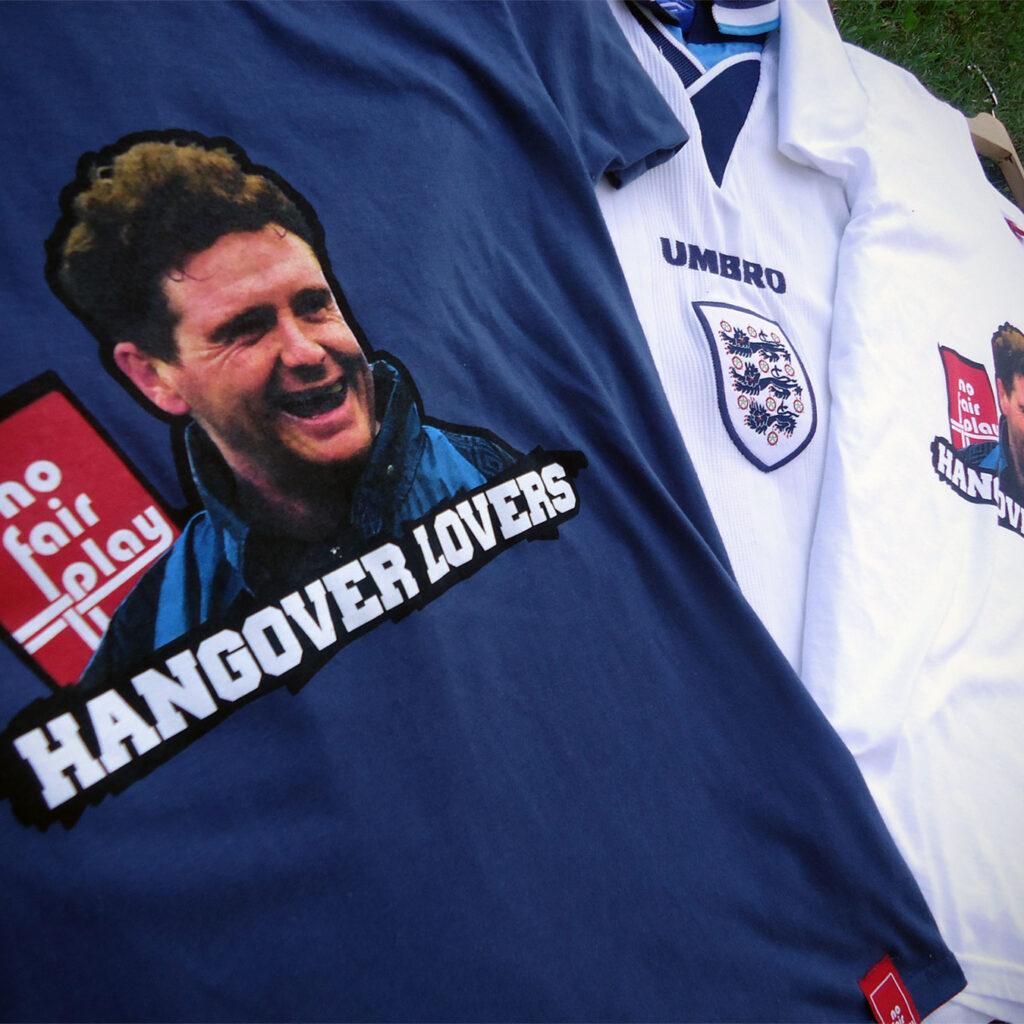 Gazza Gascoigne England Shirt