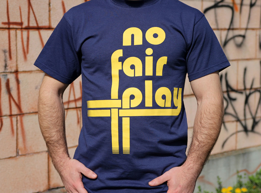 No Fair Play Abbigliamento Concerti