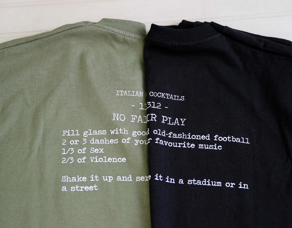 Abbigliamento No Fair Play 1312