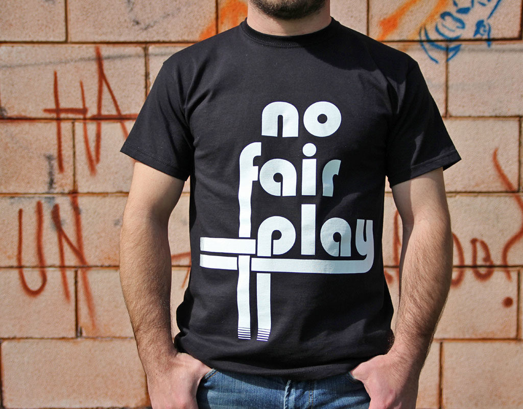 T-Shirt Logo No Fair Play