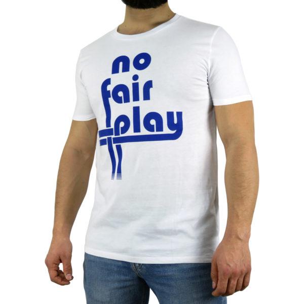 Classic Logo - White & Blue