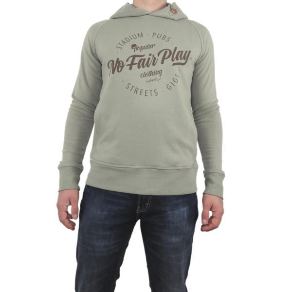 Hooded Sweatshirt - Khaki