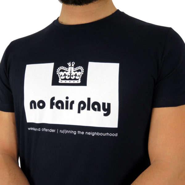 Weekend Offender x No Fair Play - Blue Navy
