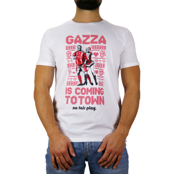 Gazza is coming to town