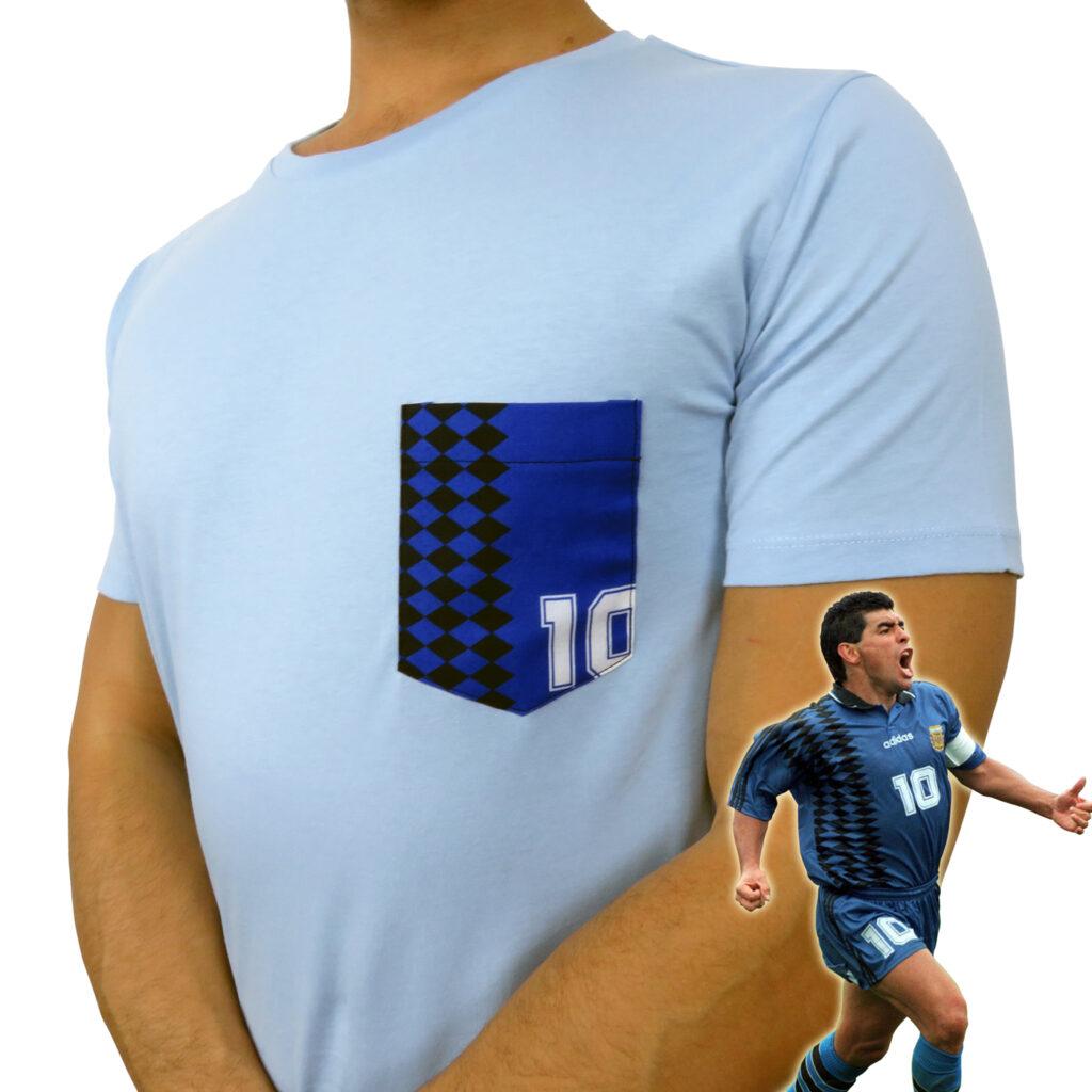 T-Shirt Pocket dedicata a Maradona