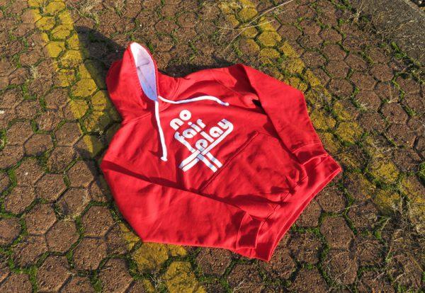 Felpa Rossa No Fair Play