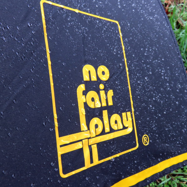 No Fair Play Umbrella