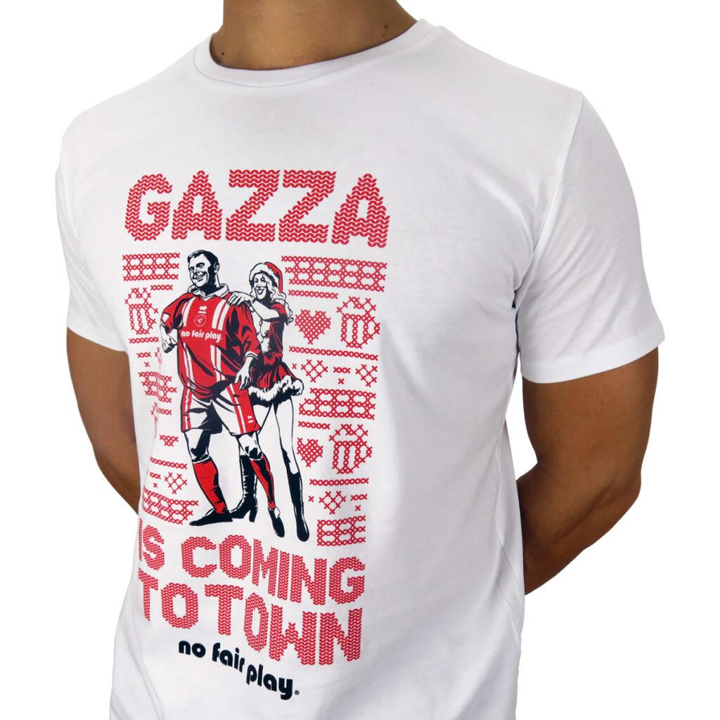 T-Shirt Paul Gascoigne Christmas
