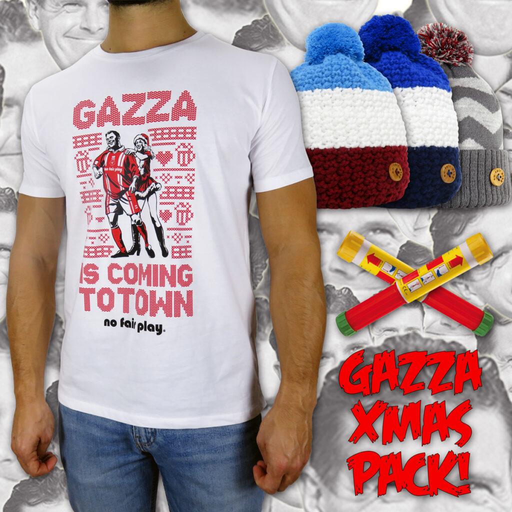 Gazza Gascoigne Christmas Pack