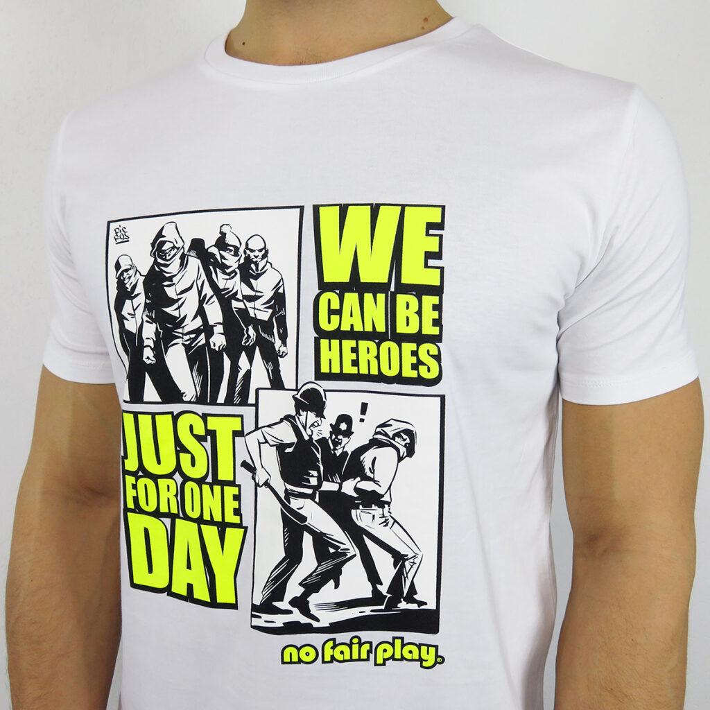 Maglia da uomo we can be heroes