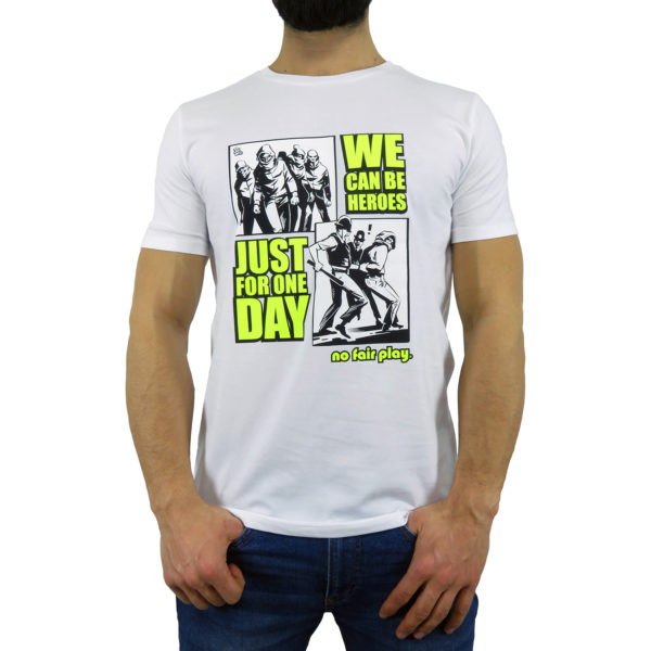 We Can Be Heroes - T-Shirt Bianca