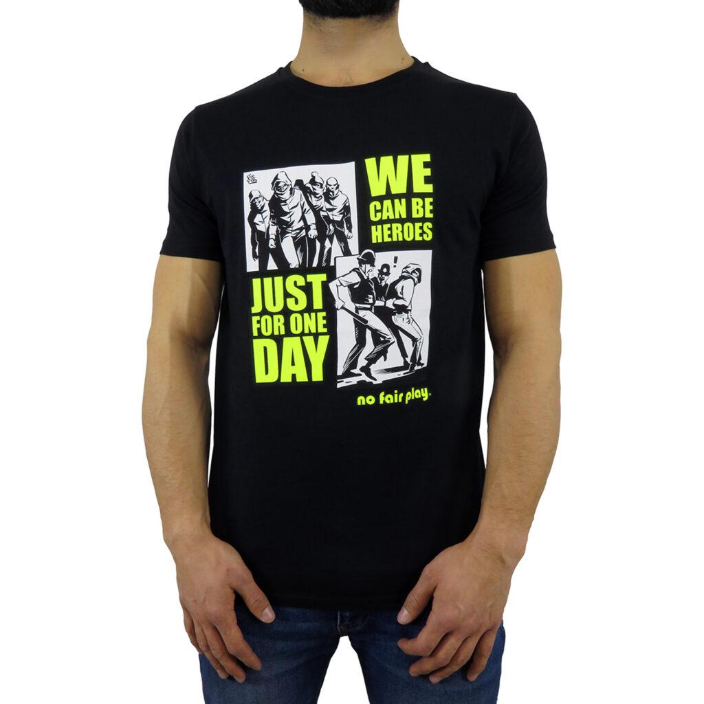 Maglietta dedicata alla vita da stadio