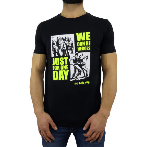 We Can Be Heroes - T-Shirt Nera