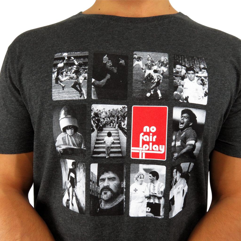 Simply Diego: la t-shirt tributo a Maradona