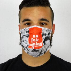Paul Gascoigne Face Mask COVID