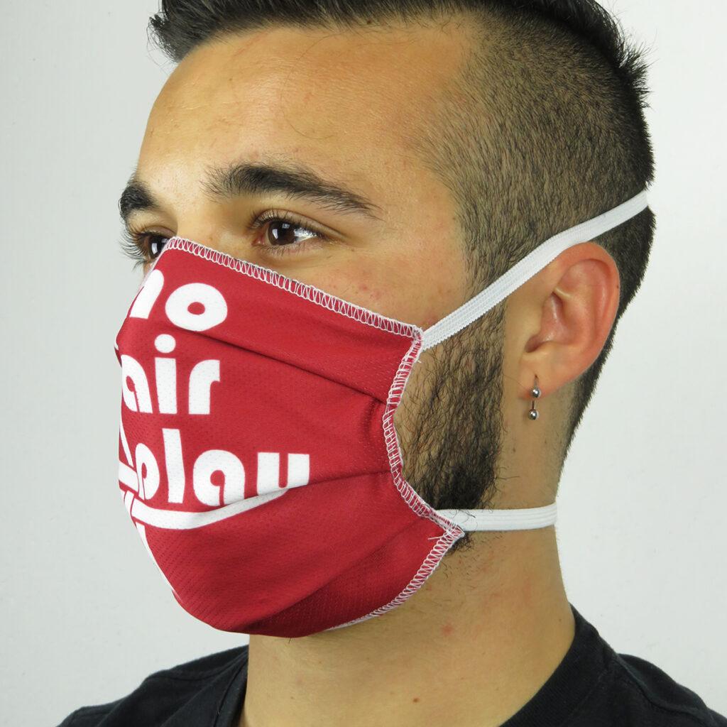 dettaglio mascherina protezione covid 19
