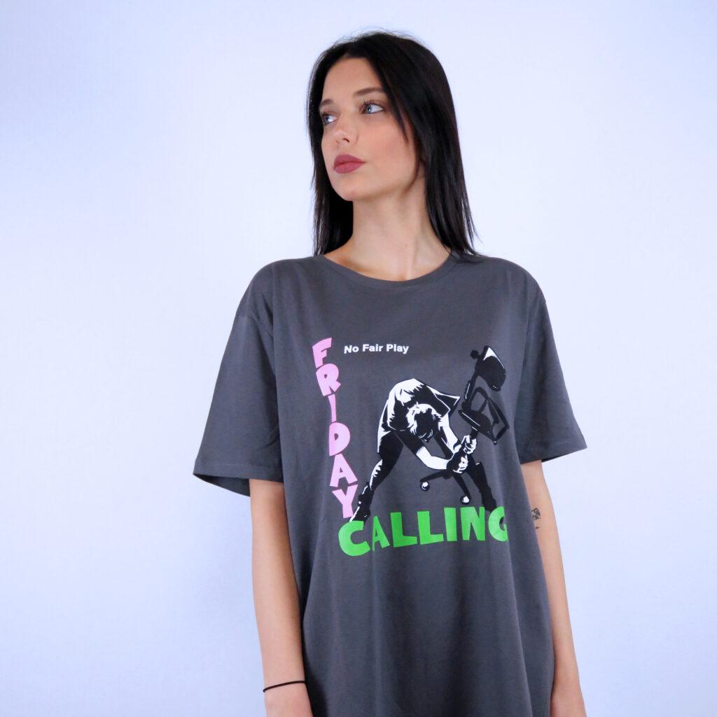 T-Shirt No Fair Play Banksy & Clash